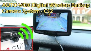 AUTO-VOX Digital Wireless Backup Camera CS2