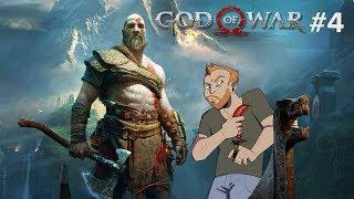 Let's Play God of War part 4 - Live God of War PS4 Pro gameplay