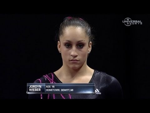 Jordyn Wieber ties for Championship lead - night 1 routines