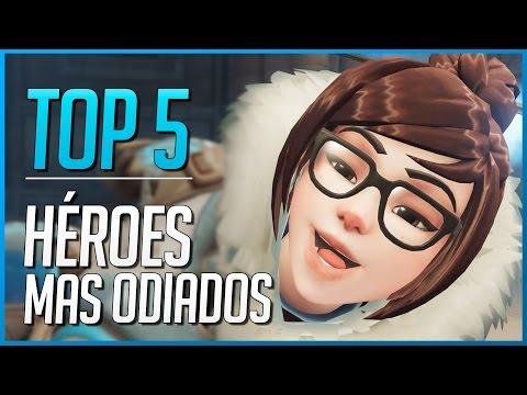 OVERWATCH: TOP 5 HEROES MAS ODIADOS   Makina