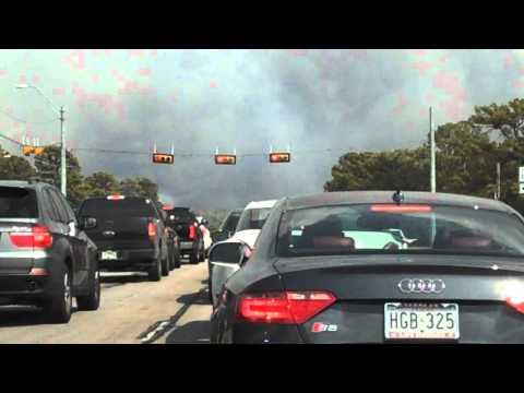 Lost Pines firestorm Bastrop TX Sept 4 2011.mp4