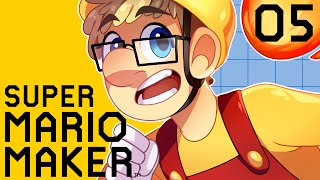 Super Mario Maker Gameplay Part 5 - Puzzle Mario