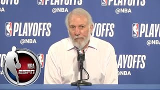 [FULL] Gregg Popovich jokes about Steve Kerr, Steph Curry during pregame presser | NBA on ESPN