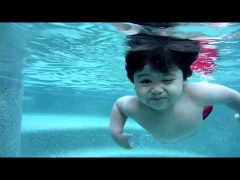 Julian Swimming @ 21 Months Old Music Videos