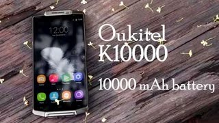Oukitel K10000 самый живучий смартфон в мире! Металлический монстр с батареей на 10000mAh!