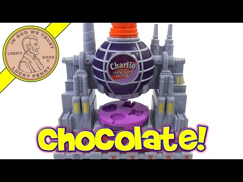 Charlie And The Chocolate Factory Maker Set, 2005 Funrise Toys video