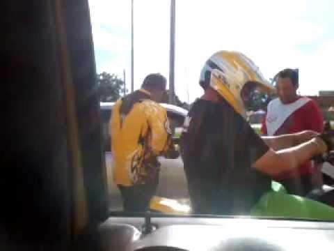 YAMAHA BANSHEE CON TABLILLA POR LA NUMERO DOS EN PUERTO RICO. CDM XTREM TEAM POLICIA DETENIENDO ATV.