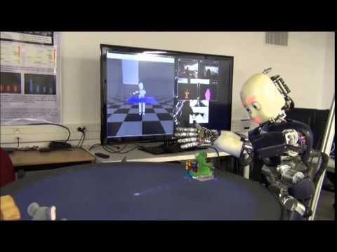 Humaniod Robot Understands and Describes Actions