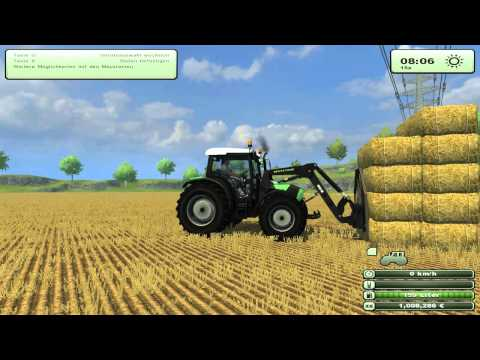 LS 2013 Mod Vorstellung / Test - [German] Ballengabel Frontlader