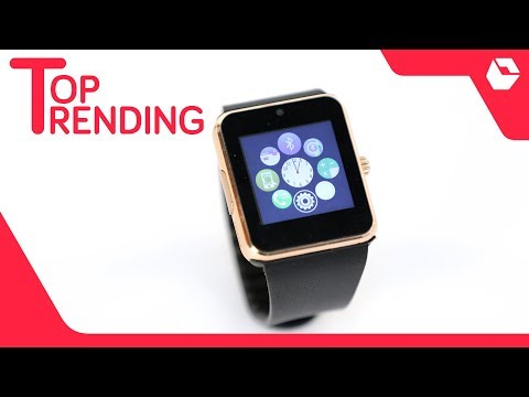 Bingo T50 Gold Bluetooth Smartwatch with Memory Card & Sim Card Slots