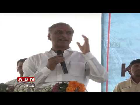 Minister Harish Rao Road show at Nagarkurnool District || ABN Telugu