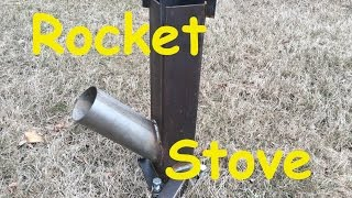 Rocket Stove Welding Project