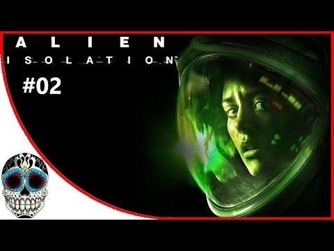 Alien Isolation en Español #02 | Adentro de la nave de la muerte