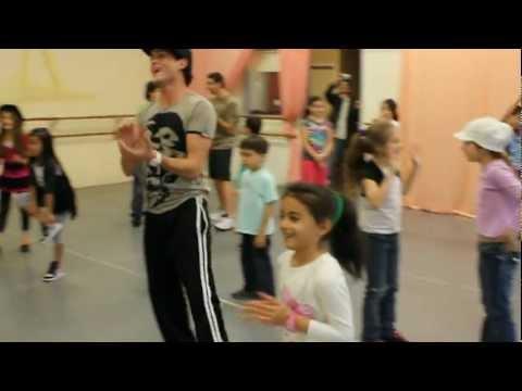 Chris Trousdale Dance Workshop At Media City Dance, Burbank video