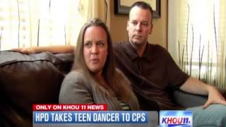 13yr old White girl taken in to CPS custody for hanging with 2 grown Black men