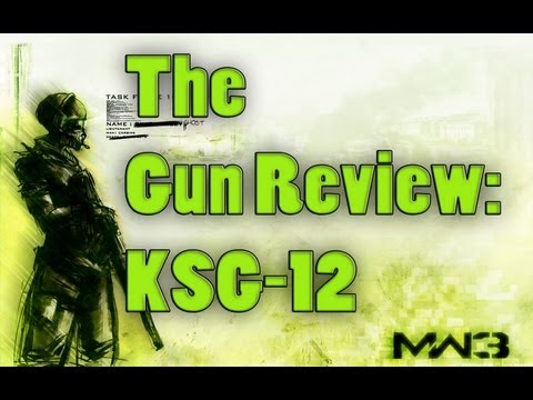 The MW3 Gun Review - Ep. 10: KSG-12 (Modern Warfare 3 Guns and Perks and Attachments Review)