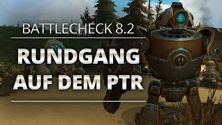 Battlecheck - Patch 8.2: Rundgang auf dem PTR | World of Warcraft