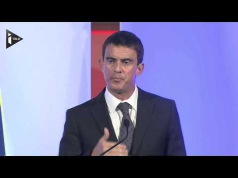 Manuel Valls à la City :
