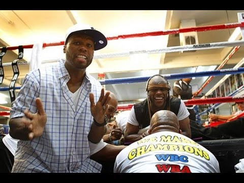 Floyd Mayweather & 50 Cent in the Gym