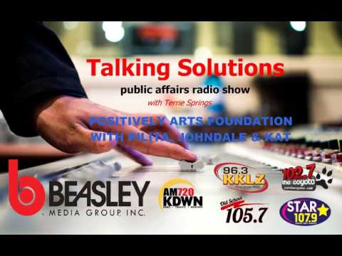 Talking Solutions with Positively Arts Foundation