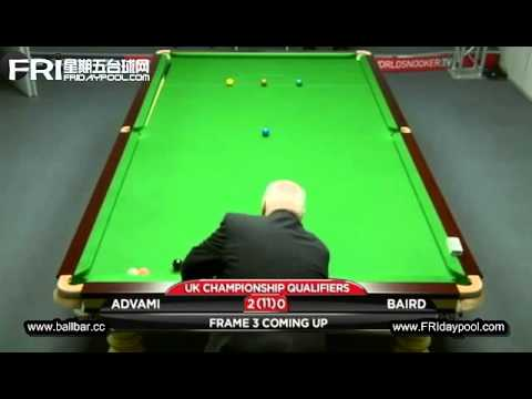 Advani vs Baird ~2012 UK Championship (qualfiers)