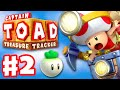 Youtube Thumbnail Captain Toad: Treasure Tracker - Gameplay Walkthrough Part 2 - The Chase to Pyropuff Peak 100%