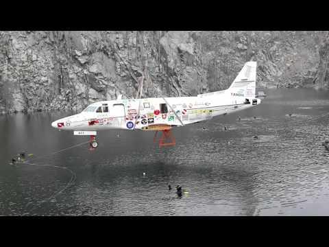 20141018 hundimiento avion cantera el carpincho tandil 5