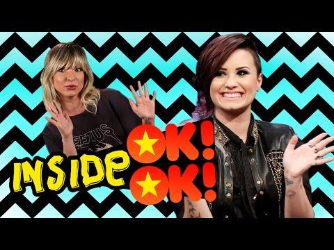 Inside OK!OK!: Demi Lovato e a tattoo de vagina