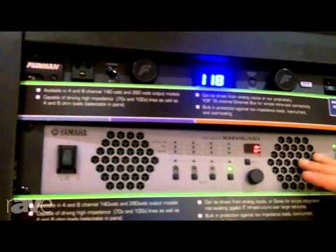 InfoComm 2013: Yamaha Shows off its XMV Amplifiers