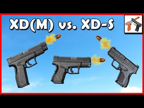 XD(M) 4.5. 3.8 Compact. & XD-S! Great Gun Comparison & Overview