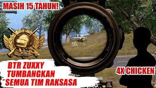 MANTAPP!! BTR ZUXXY SUKSES BAWA BIGETRON TUMBANGKAN TIM ESPORT RAKSASA - PUBG MOBILE INDONESIA
