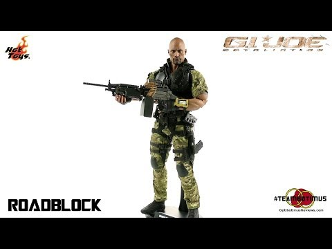 Video Review of the Hot Toys G.I. Joe: Retaliation: Roadblock