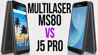 Multilaser MS80 vs J5 Pro (Comparativo)