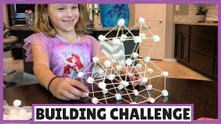 A Building Challenge with Toothpicks and Marshmallows