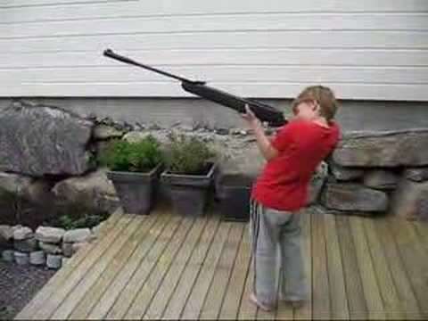 powerful air rifle