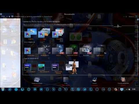Como Poner La Barra De Tareas Transparente En Windows 8