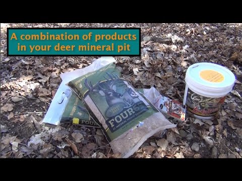 Deer Minerail Pit - Combining differnt products