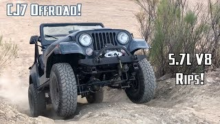 Jeep CJ Offroad, Hydraulic Clutch, and 4.10 Re-gear!