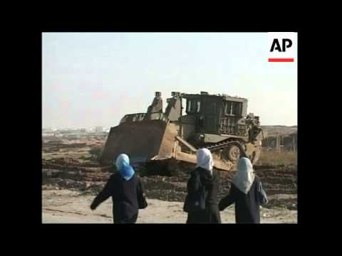 Demolition of Palestinian homes, funeral of tunnel bomber