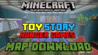 Minecraft Ps3 Toy Story 2 Hunger Games (Download)