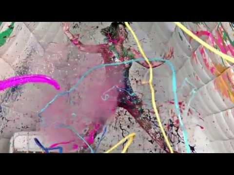 Katy Perry - Prismatic Tour Peacock Interlude Backdrop
