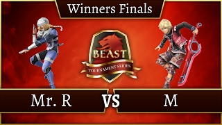 BEAST 7 - Mr.R (Sheik) Vs. M (Shulk) - Winners Final - Smash 4 Singles