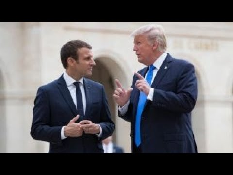 Trump's first state dinner with France's Macron