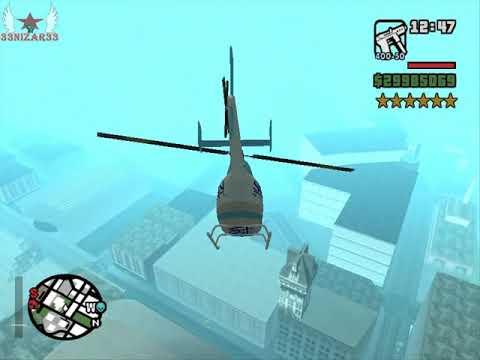 GTA San Andreas - Robando Un Helicoptero
