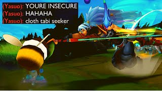 Insecure Teemo Player [Teemo vs Yasuo]