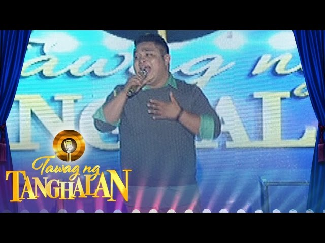 Tawag ng Tanghalan: John Peterson Villarin wins showdown