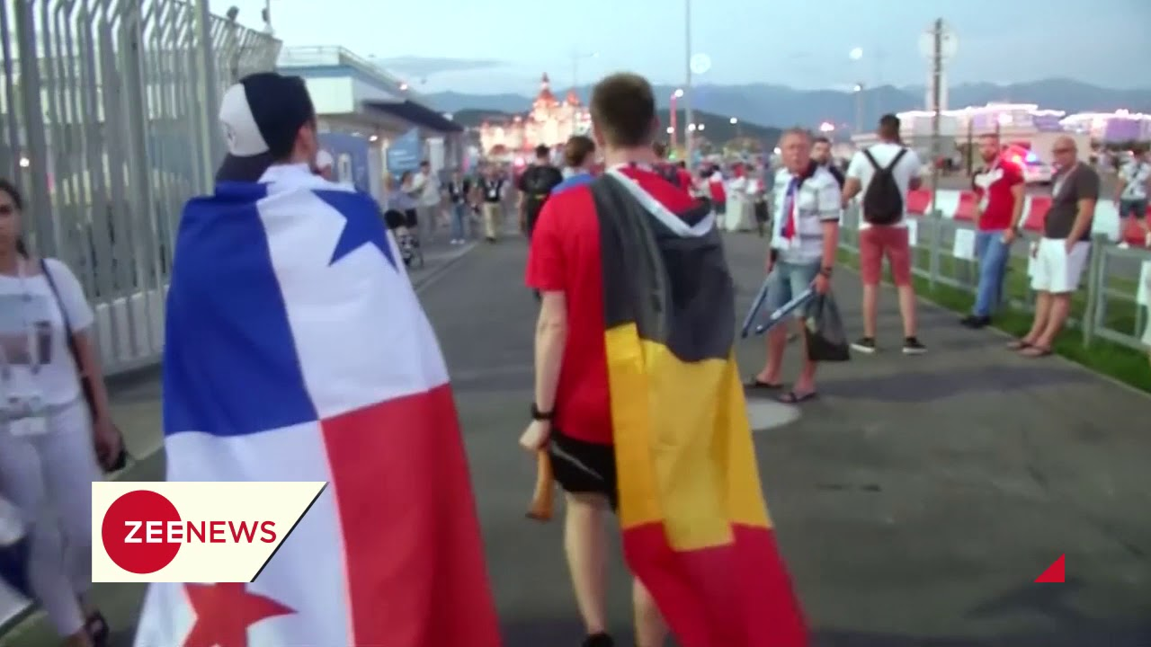 FIFA World CUP 2018: Panama lose 0-3 to Belgium, but don't tell their fans