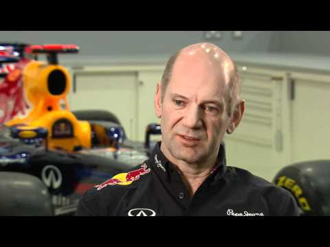 F1 2012 - Red Bull RB8 launch - Interview Adrian Newey
