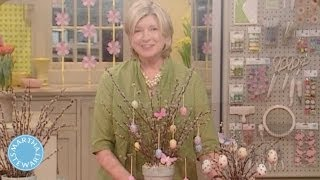 Pussy Willow Easter Tree - Martha Stewart