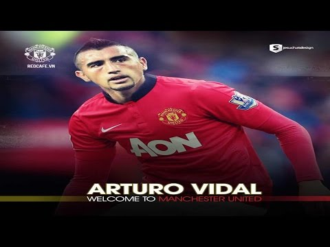 Arturo Vidal ◆Welcome To Manchester United◆ 2014 HD